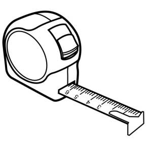 290x287 Tools Tape Measure Coloring Page, Measuring Tape Coloring Page