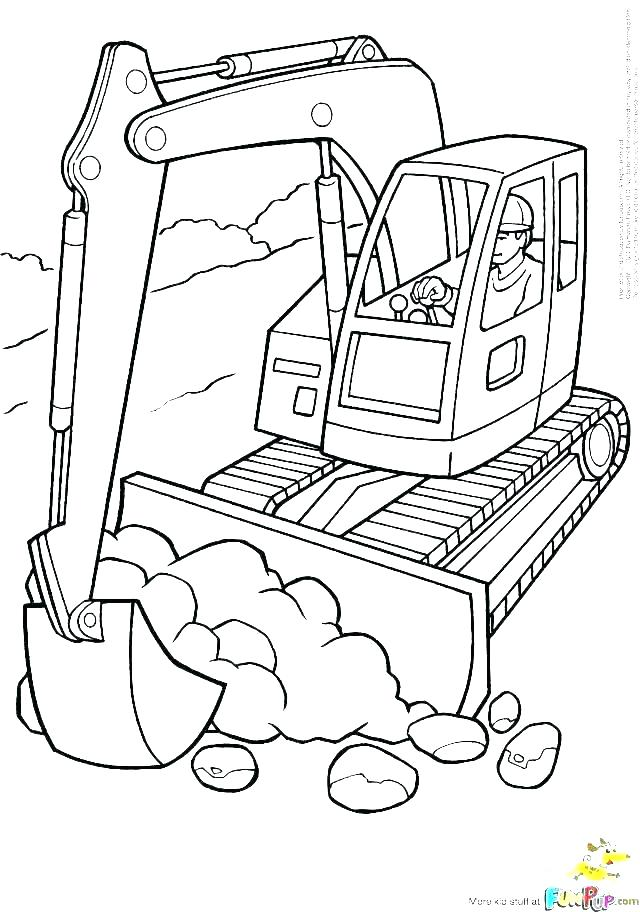 640x912 Construction Coloring Pages Construction Coloring Page
