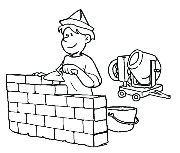 600x513 Amazing Construction Tools Coloring Pages New Amazing Construction