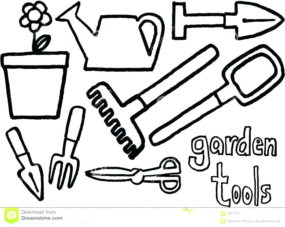 971x773 Tool Coloring Pages Tools Coloring Page Tool Coloring Pages