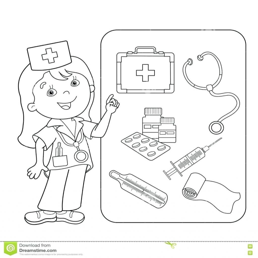 Tools Coloring Pages Preschool At Getdrawings Com Free For