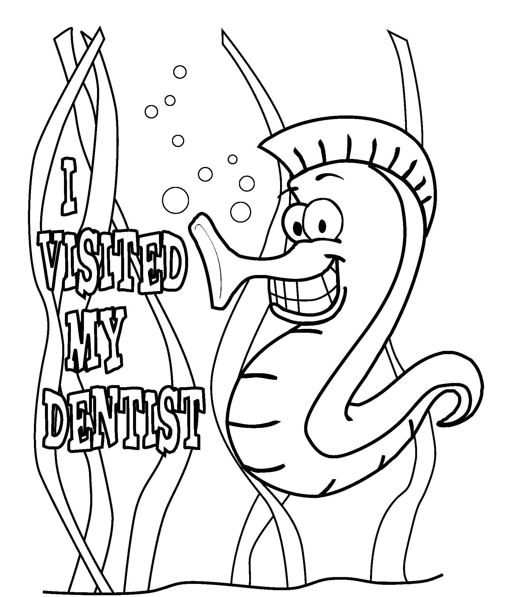 1700x2006 Dental Coloring Pages