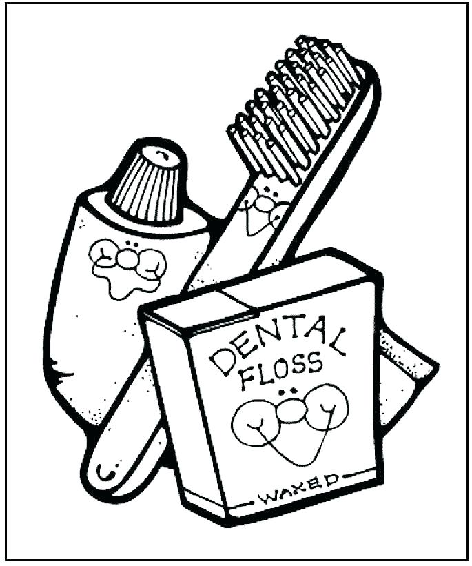685x821 Dental Coloring Sheets Teeth Coloring Pages For Kids Printable