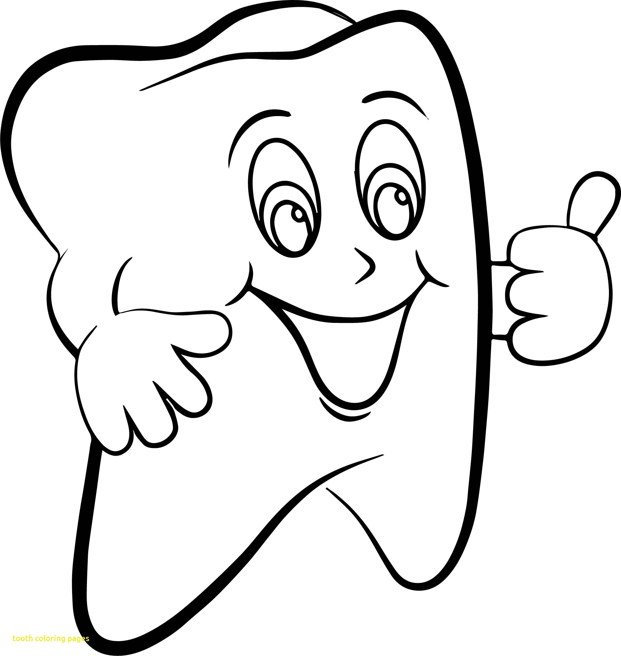 Tooth Coloring Pages at GetDrawings.com | Free for personal ...