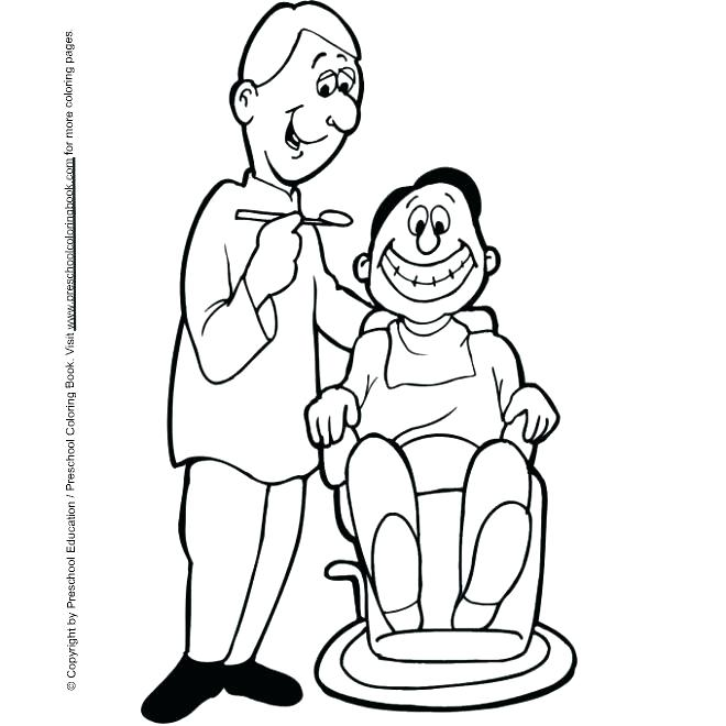 660x660 Free Dental Coloring Pages Teeth Coloring Pages Printable Dentist