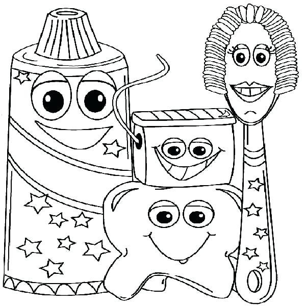 600x600 Teeth Coloring Pages Free Printable Dental Coloring Pages Dental