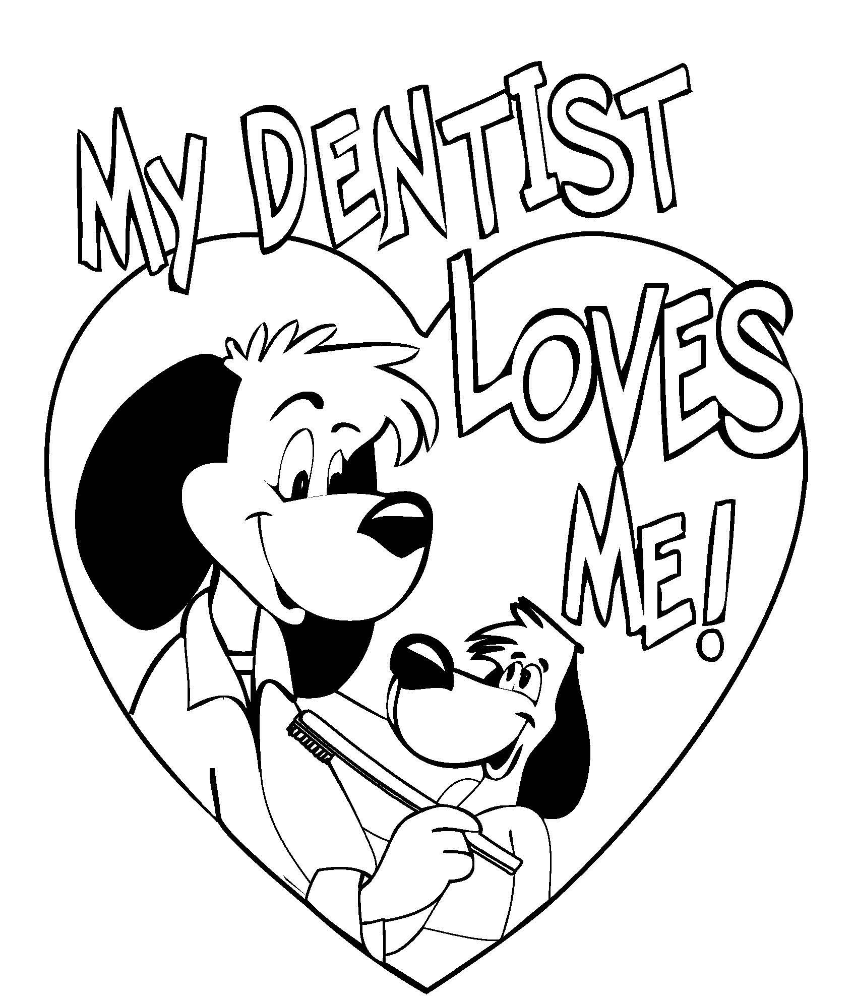 1694x1988 Tooth Coloring Pages