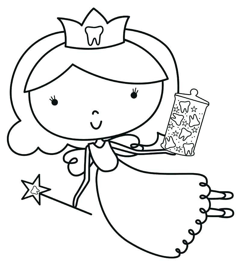 800x882 Tooth Fairy Coloring Sheet Teeth Coloring Sheets Tooth Coloring