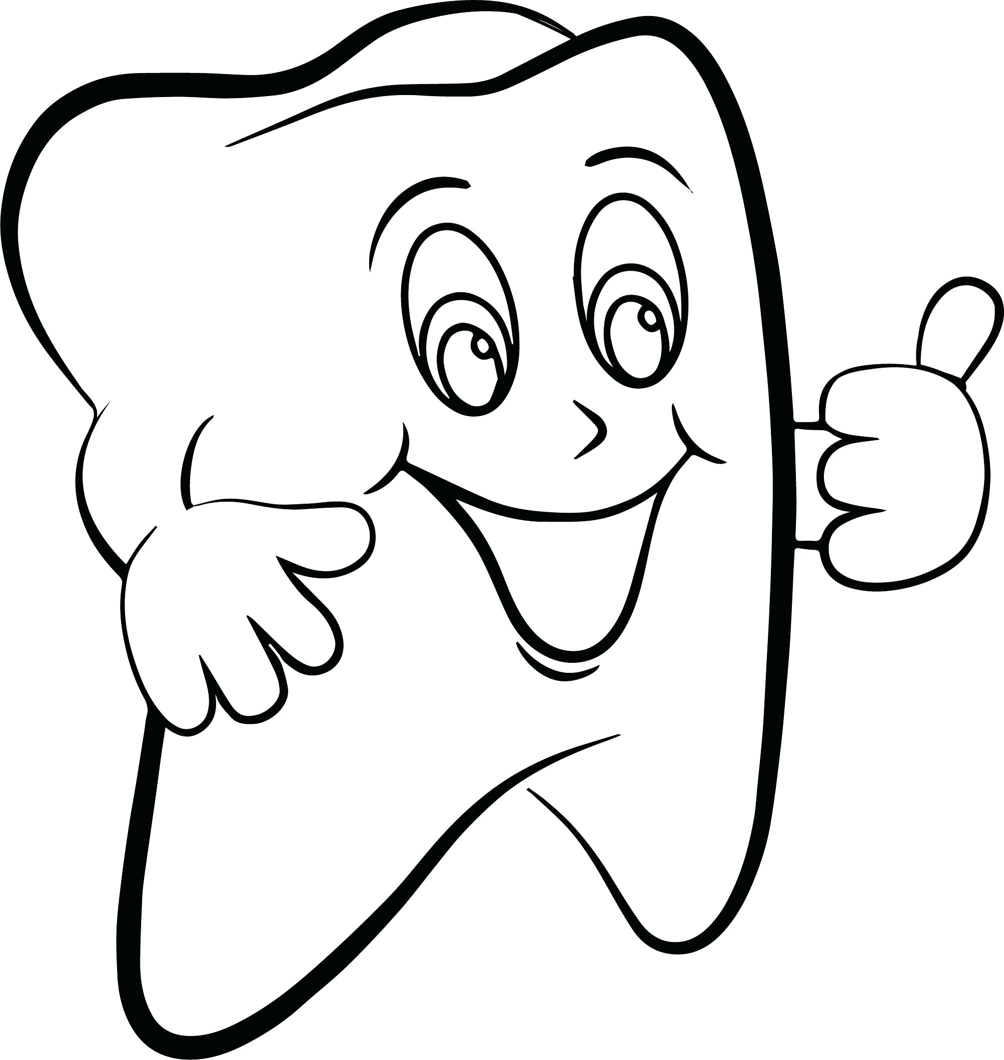 2007x2119 Coloring Pages Of Teeth Prixducommerce Printable Teeth