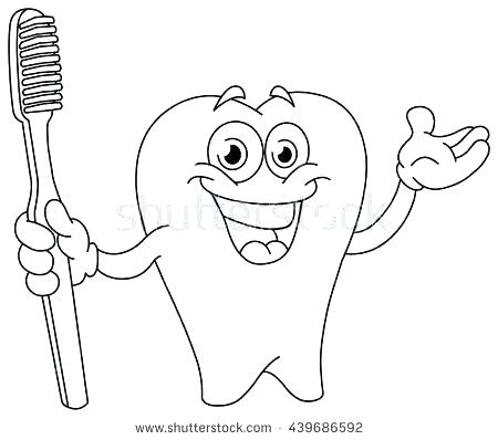 450x398 Teeth Coloring Pages Tooth Fairy Coloring Page Tooth Coloring