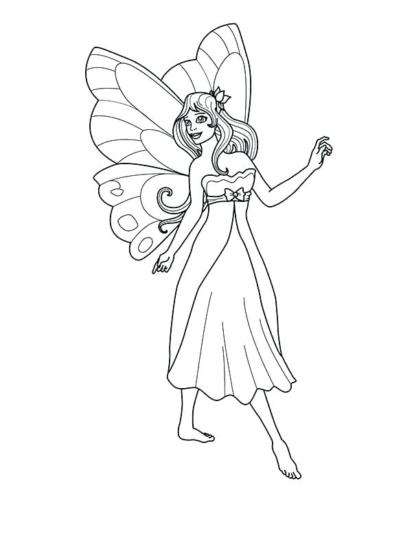 600x776 Tooth Fairy Coloring Page Tooth Fairy Color Page Tooth Fairy