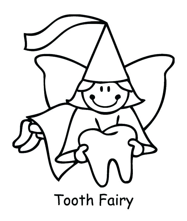 618x728 Tooth Color Page Tooth Fairy Coloring Pages Printable Tooth