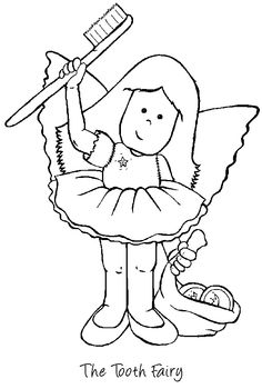 236x350 Trendy Design Ideas Tooth Fairy Coloring Pages Printable Good Diet