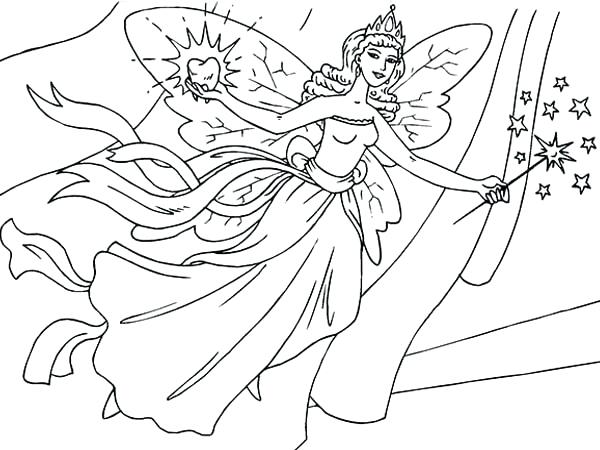 600x450 Fairy Coloring Page Tooth Fairy Coloring Page Fairy Coloring Pages