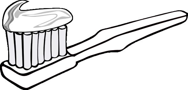 600x289 Toothbrush Clip Art