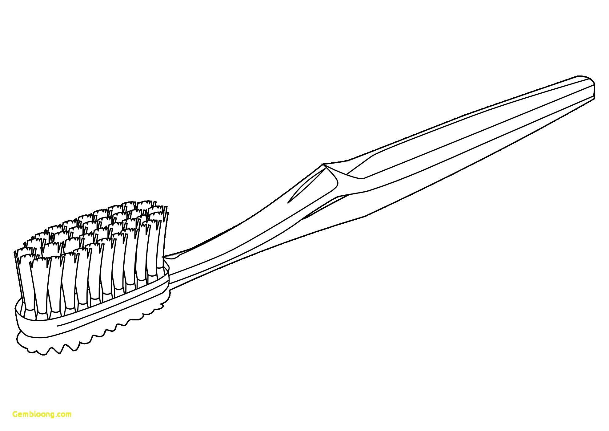 1979x1399 Toothbrush Coloring Page Good Of Toothbrush Coloring Page