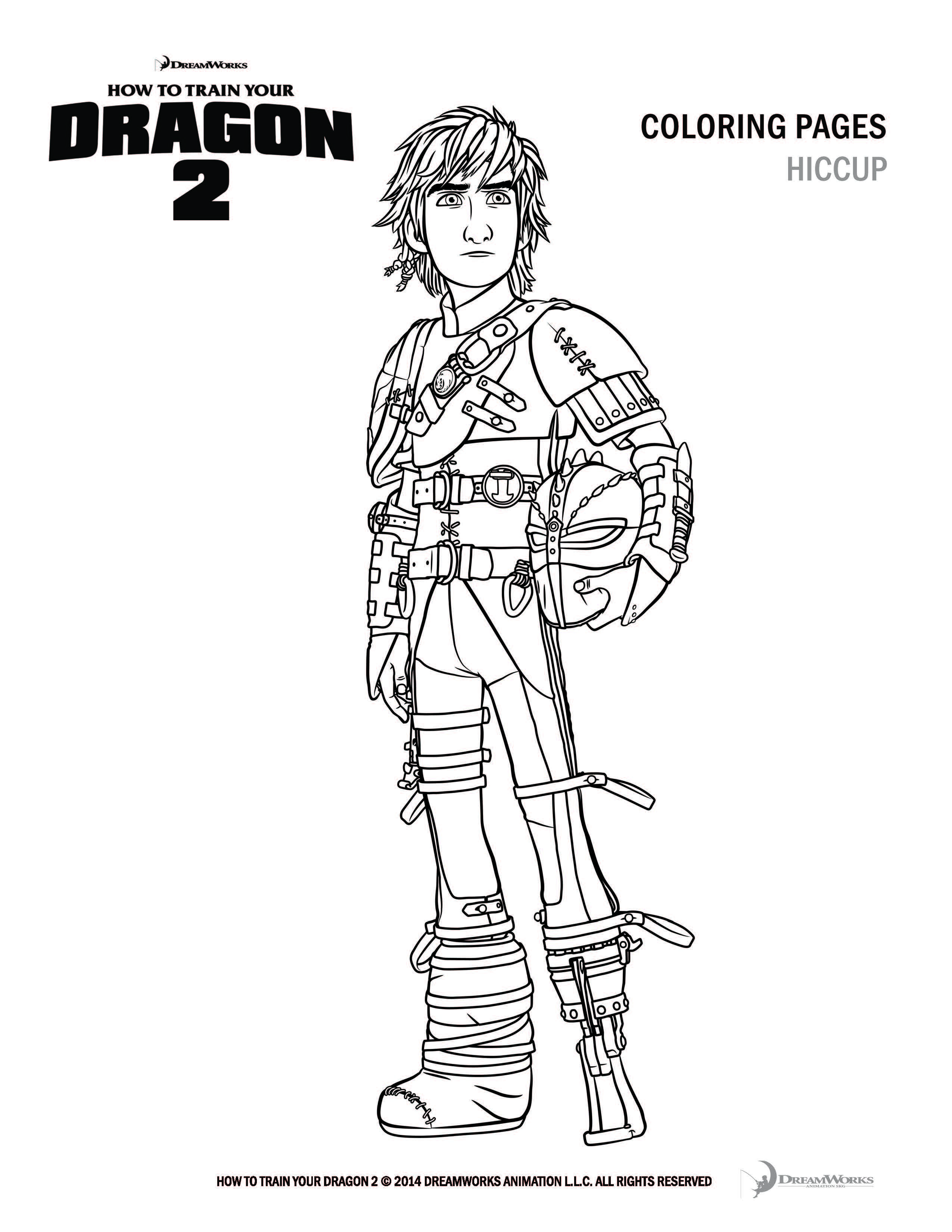 2550x3300 How To Train Your Dragon Coloring Pages Toothless And Hiccup