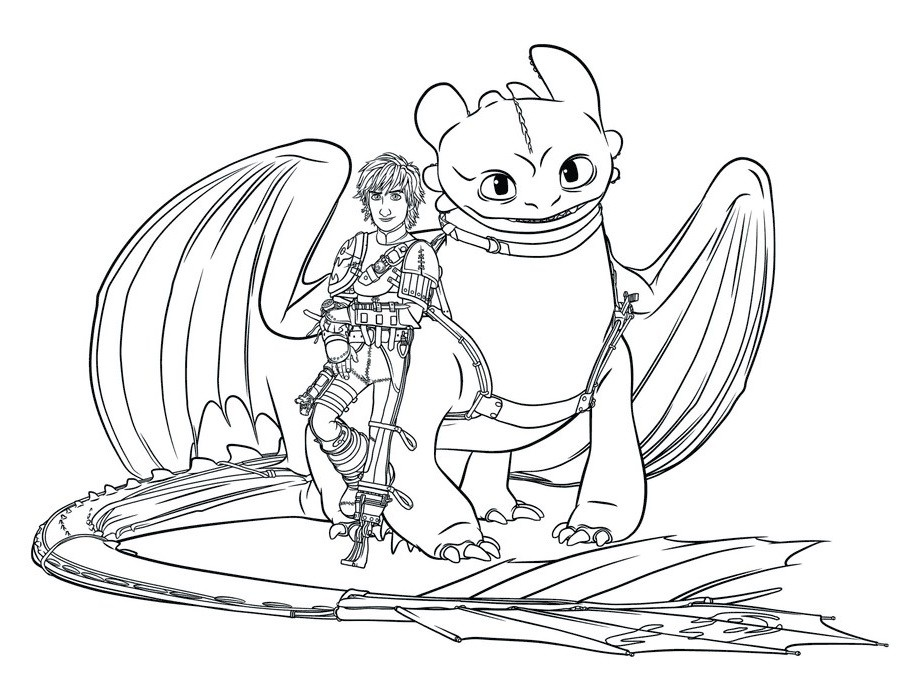 914x700 How To Train Your Dragon Coloring Pages Hiccup And Toothless