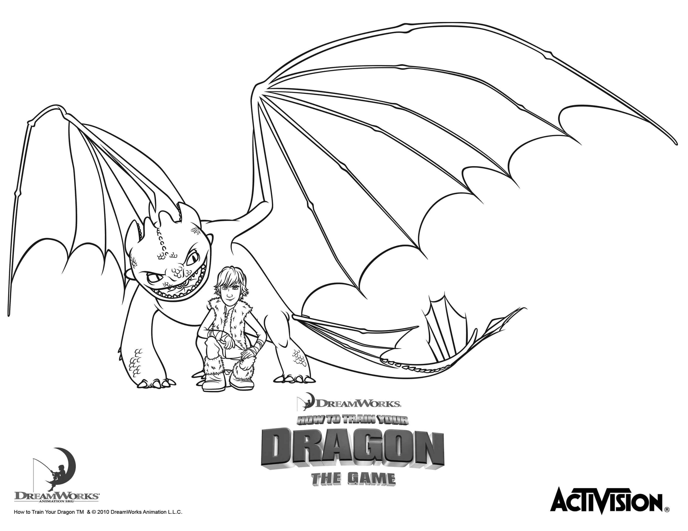 2750x2125 Toothless Coloring Page Color Pages Tearing Dragon