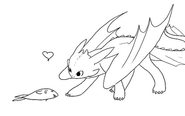 600x375 Toothless Coloring Pages How To Train Your Dragon Toothless