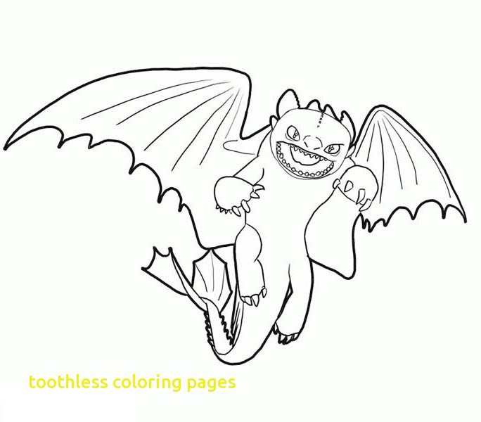 684x600 Toothless Coloring Pages With Toothless Flying In How To Train