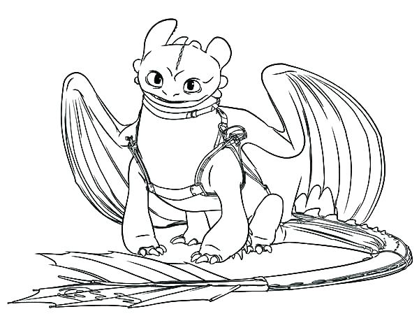 600x462 Toothless Dragon Coloring Pages How To Train Your Dragon Coloring