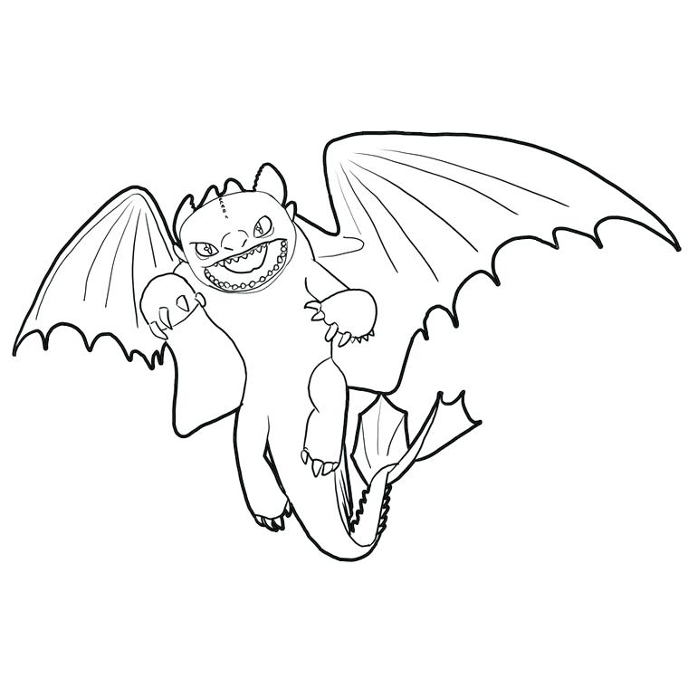 760x760 Dreamworks Dragons Toothless Coloring Pages Coloriage Astrid