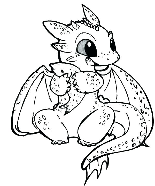 600x722 Night Fury Coloring Pages Toothless The Dragon Coloring Pages