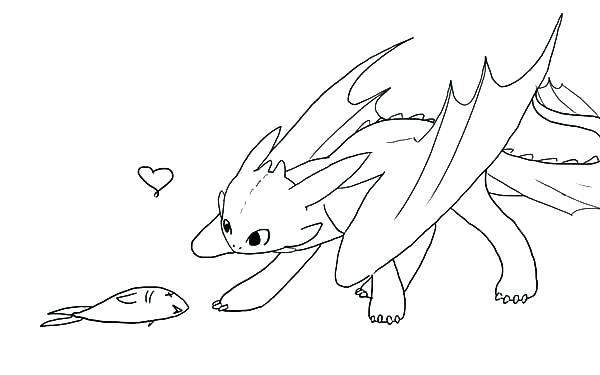 600x375 Toothless Dragon Coloring Pages Toothless The Dragon Coloring