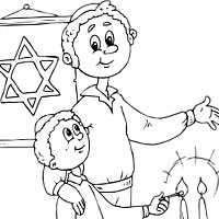 200x200 Soar Jewish Coloring Pages Surfnetkids