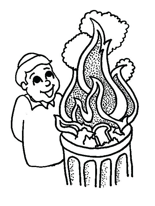 500x661 Torah Coloring Pages