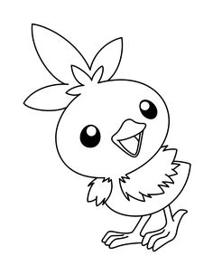 236x304 Smart Ideas Torchic Coloring Pages Pokemon Download Images