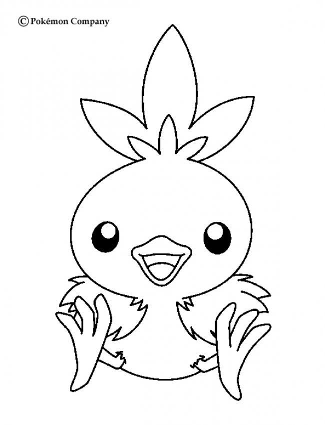 651x850 Torchic Pokemon Coloring Page More Fire Pokemon Coloring Sheets