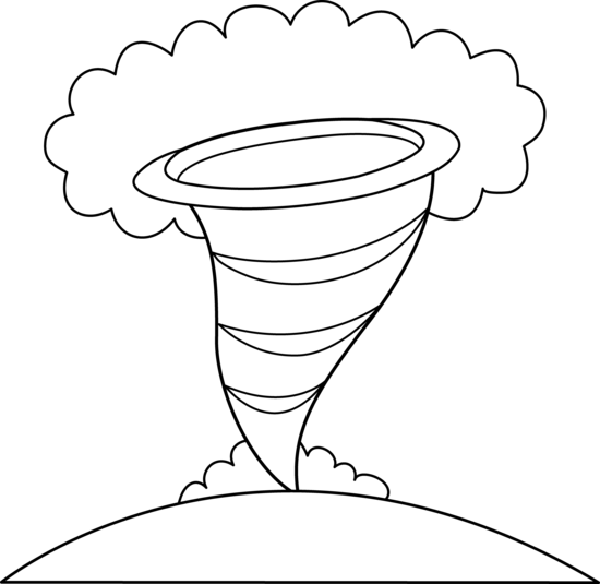 Tornado Coloring Pages At Getdrawings Com Free For Personal Use