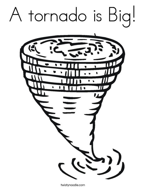 The best free Tornado coloring page images. Download from 56 ...