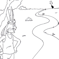 200x200 Fairy Tales Coloring Pages