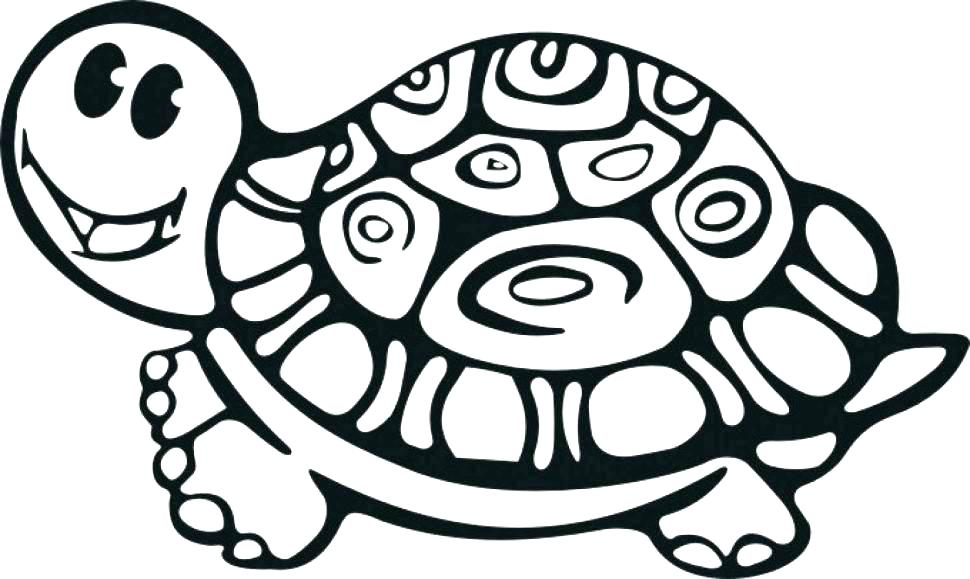 970x579 Tortoise Coloring Page Hare Tortoise Coloring Pages Images