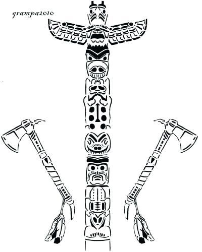 400x500 Totem Pole Coloring Pages Medium Size Of Totem Pole Coloring Pages