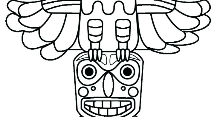 716x393 Totem Pole Coloring Pages Totem Pole Coloring Pages Totem Pole
