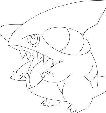 440x470 Arbok Pokemon Coloring Page