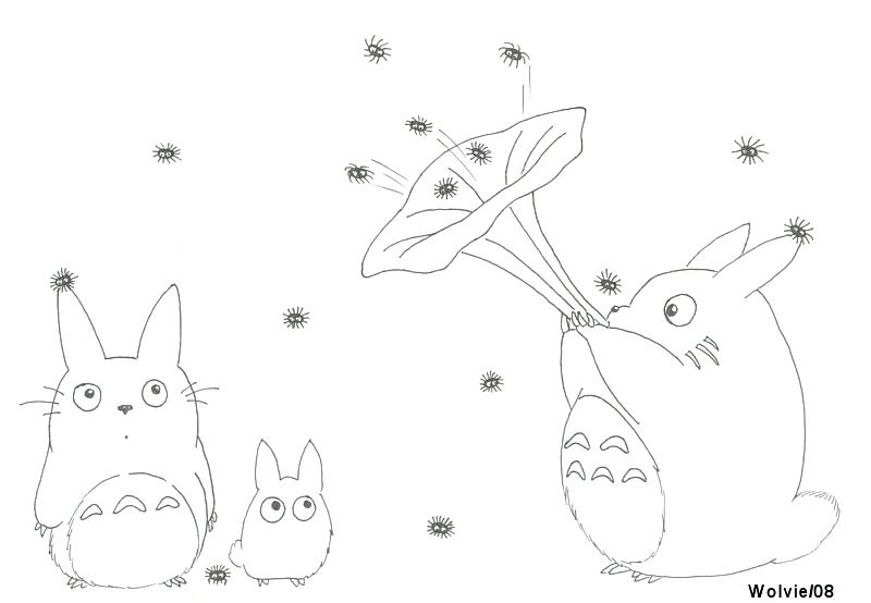 800x554 My Neighbor Totoro Coloring Pages From My Neighbor Coloring Pages