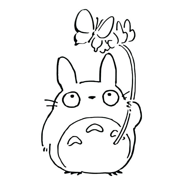 640x640 My Neighbor Totoro Coloring Pages My Neighbor Coloring Book Best