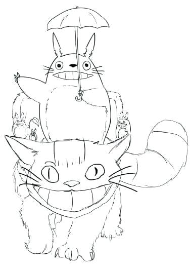 378x529 Totoro Coloring Pages Coloring Sheets My Neighbor Coloring Pages