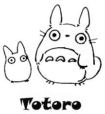 216x234 Totoro Coloring Pages To Download And Print For Free