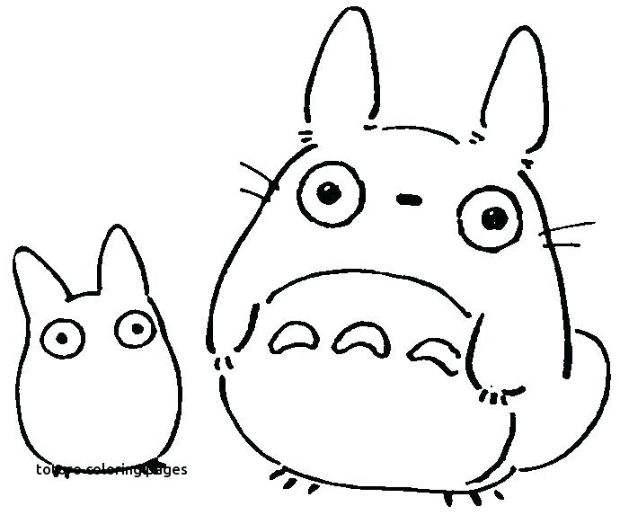 690x573 Doodles And Part Studio And Studio Coloring Plus Totoro