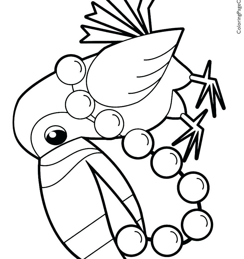 850x900 Toucan Coloring Page Colouring Pages Of Toucans Toucan Coloring