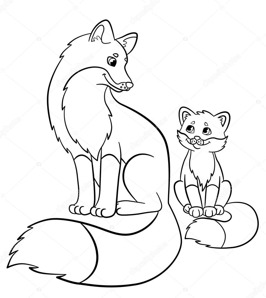 916x1023 Fresh Baby Fox Want To Touch You Coloring Pages Bulk Color