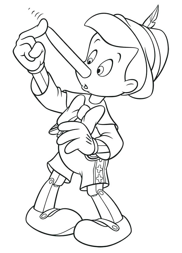 600x834 Jiminy Cricket Coloring Pages