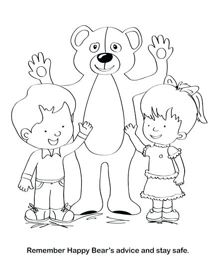 432x559 Touch Coloring Pages Good To Lovely Good Touch Bad Touch Coloring