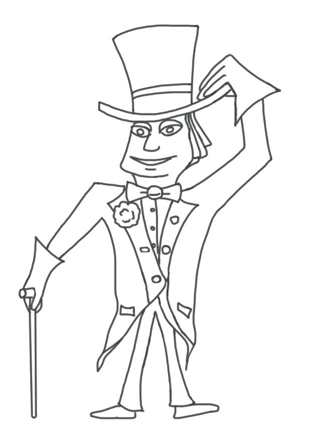 640x853 Charlie And Chocolate Factory Coloring Pages Pics
